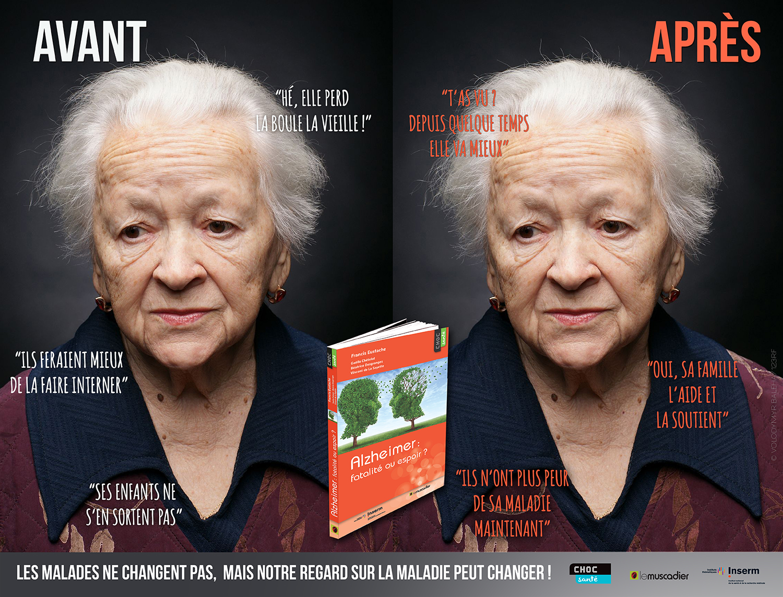 Visuel de communication collection Choc santé - Alzheimer