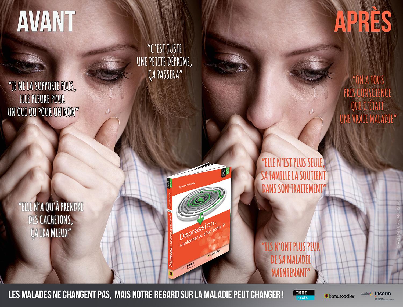 Visuel de communication collection Choc santé - Dépression