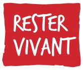 "Logo de la collection ""Rester vivant"" - Le Muscadier"