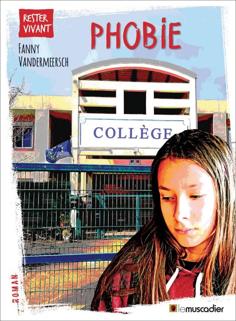 """Couverture du livre """"Phobie"""" - Fanny Vandermeersch - ISBN 979-10-90685-78-9"""
