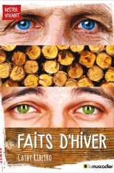"Couverture du livre ""Faits d'hiver"" - Cathy Ribeiro - ISBN 9791090685949"