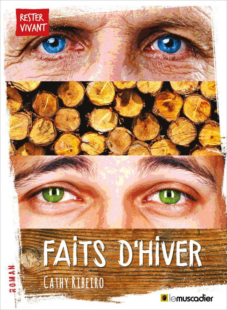 """Couverture du livre """"Faits d'hiver"""" de Cathy Ribeiro - ISBN 9791090685949"""