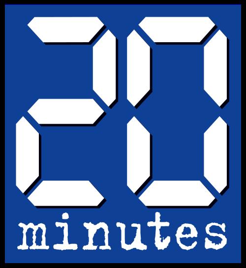 Logo du journal 20minutes