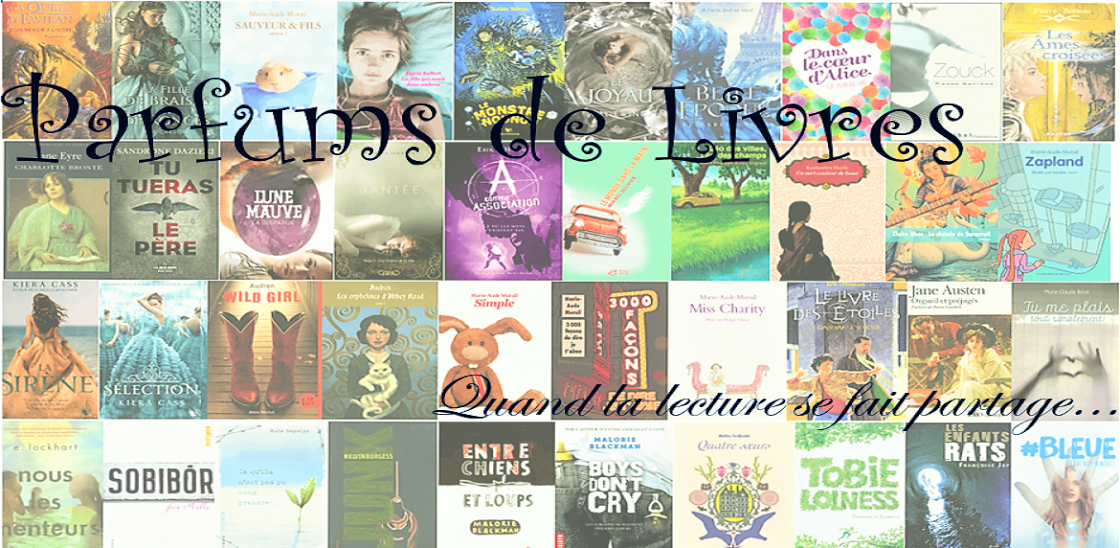 Logo du blog Parfums de livres