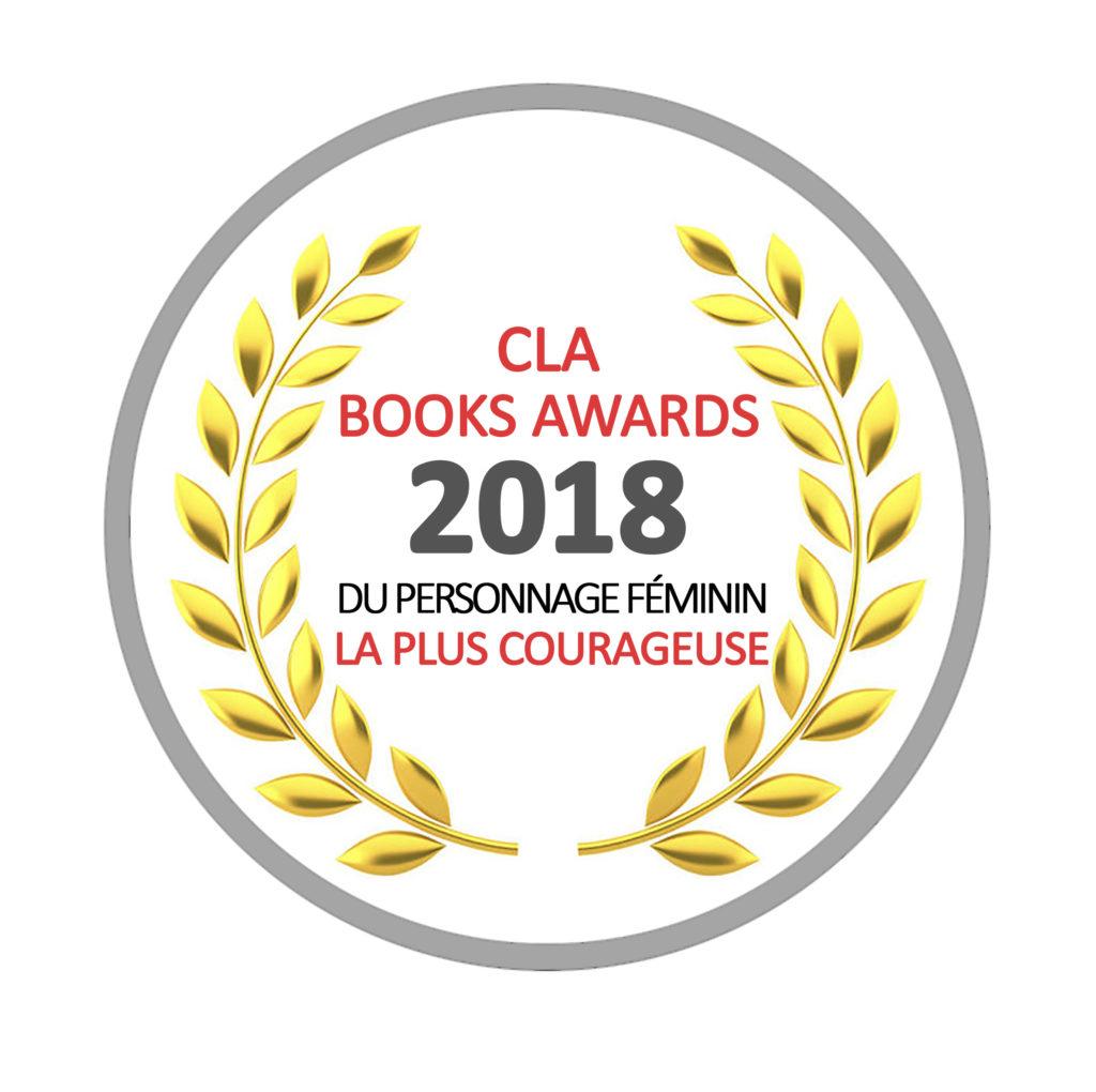 Lauréat du CLA Books Awards 2018
