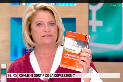 Marina Carrère d'Encausse et le livre Dépression : s'enfermer ou s'en sortir ?