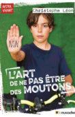 """Couverture du livre """"L'art de ne pas être des moutons"""" de Christophe Léon - ISBN 9791096935086"""