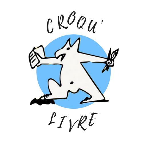 Logo de l'association Croqu'livre
