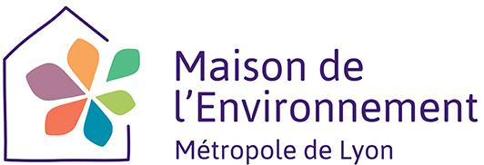 Logo de la Maison de l'environnement de la métropole de Lyon