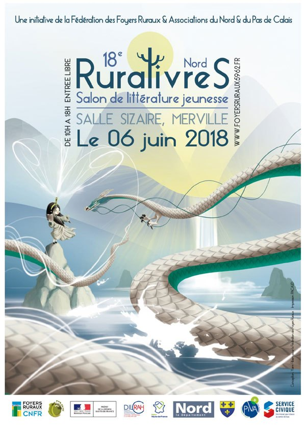 Affiche du prix Ruralivres 2018