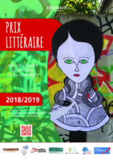 Affiche du prix littéraire des collégiens et lycéens de la Charente