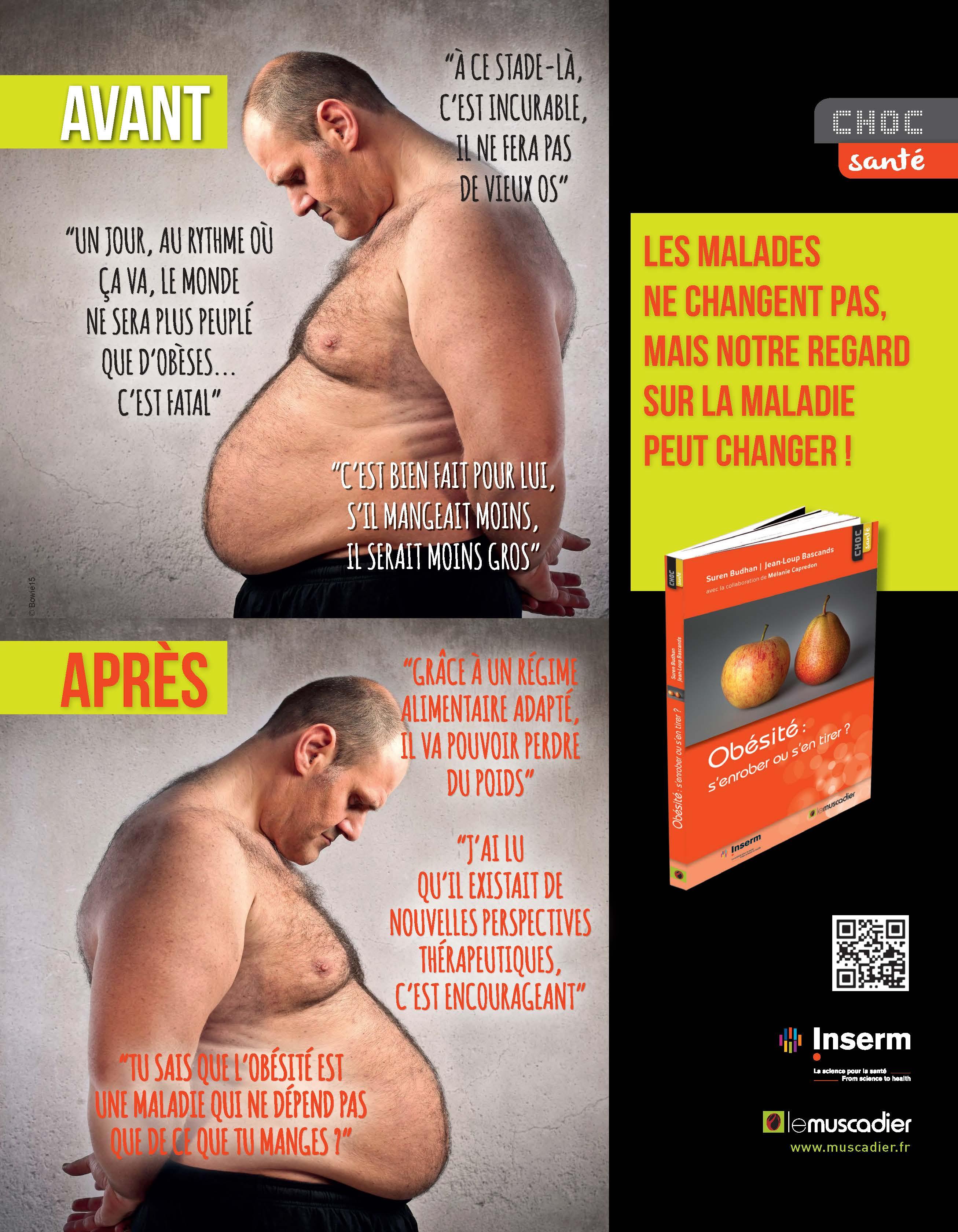Visuel de communication collection Choc santé - Obésité