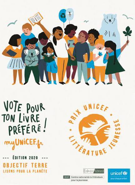 Logo du prix Unicef de littérature jeunesse 2020