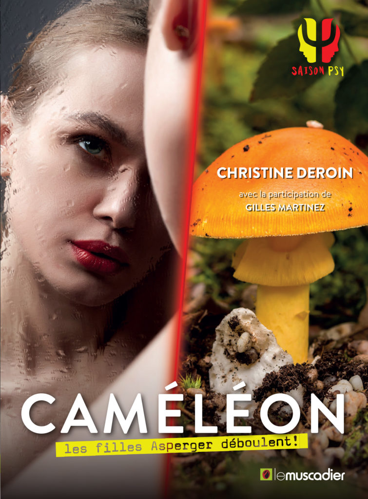 Couverture du livre Caméléon - Christine Deroin - ISBN 9791096935529
