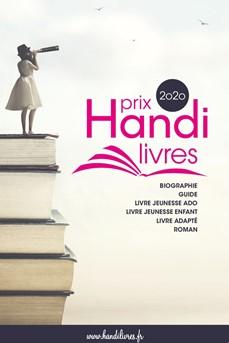Logo du prix Handi-livres 2020