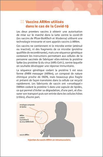 Complément sur les vaccins ARNm utilisés dans le cas de la Covid-19